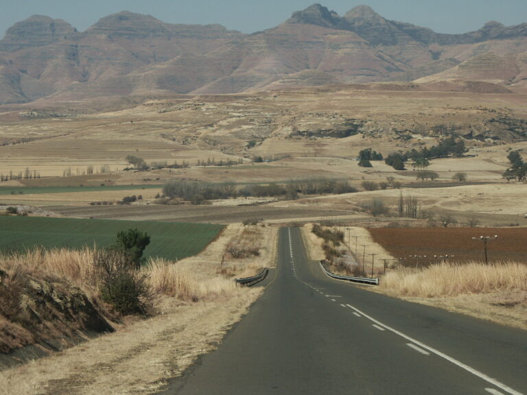 Long road in South Africa